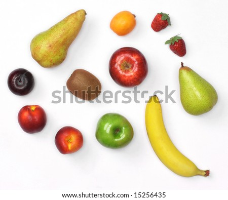 Mix of fruit