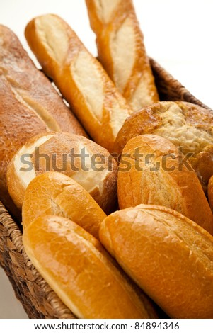 Mixed Basket of Breads 2