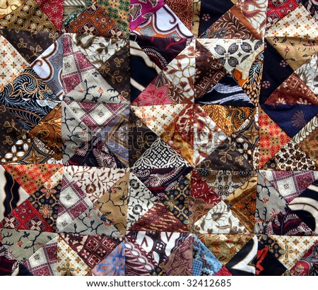 mixed Batik background
