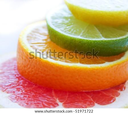 Mixed citrus fruit #51971722