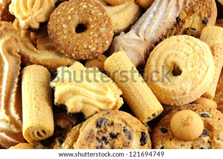 Mixed  cookies