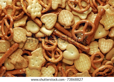 mixed crackers