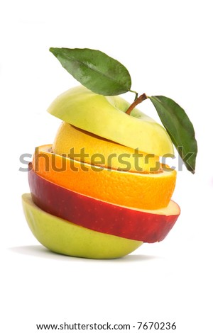 Mixed Fruit - stock photo