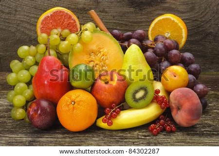mixed fruits #84302287