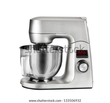 mixer on a white background, isolated - stock photo