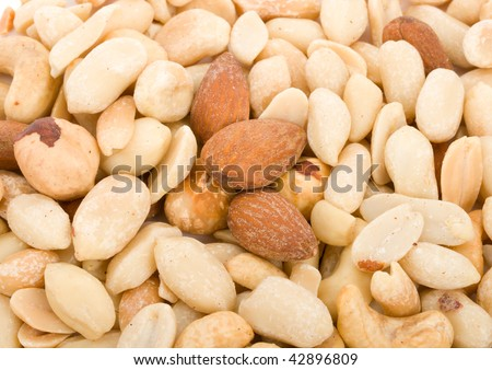 mixture of different nuts
