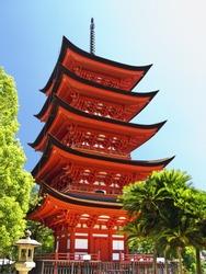 Miyajima Goju-no-to pagoda
