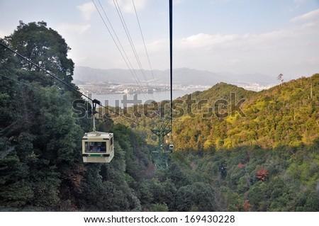 Miyajima Island Cable Car, Japan