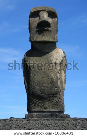 Moai from Ahu Tongariki on Easter Island