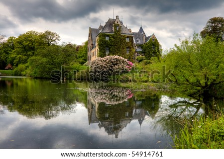 Moated in Germany