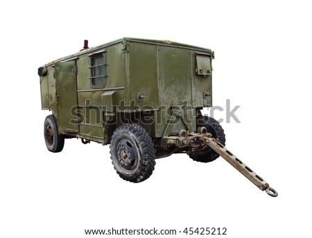 mobile diesel power station on...