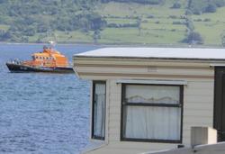 Mobile home Caravan summer home in Cushendall Glenariff Glen Co Antrim Northern Ireland