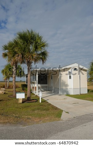 mobile home for sale at camping ground resort st. augustine florida