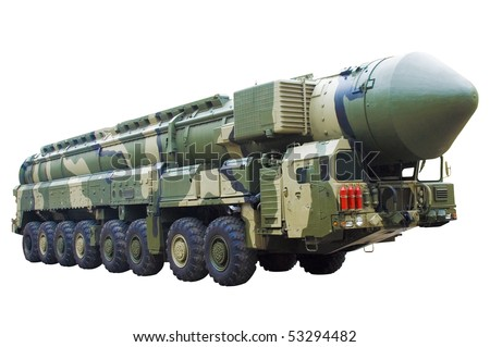 Mobile nuclear ballistic missile