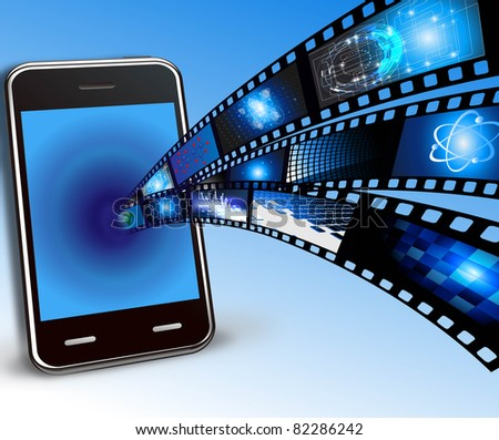 mobile phone and films