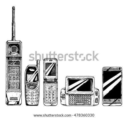 mobile phone evolution set in...