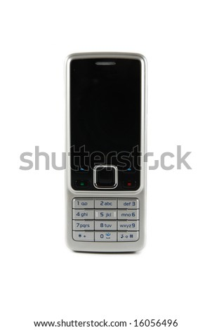 Mobile phone (isolated)