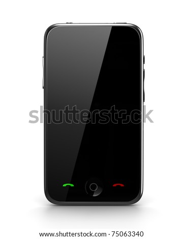 Mobile phone isolated