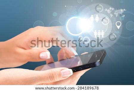 Mobile Phone, Smart Phone, Technology.