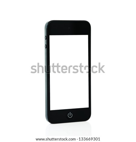 mobile touch phone with isolated screen