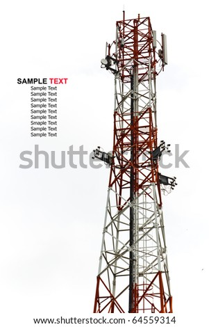 mobile tower antenna isolated