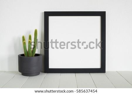 mock up frame in room #585637454