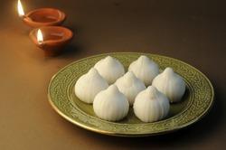 Modak- a traditional dish made on Ganpati festival in India