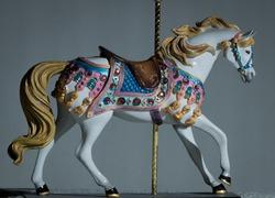 Model Carousel Horse