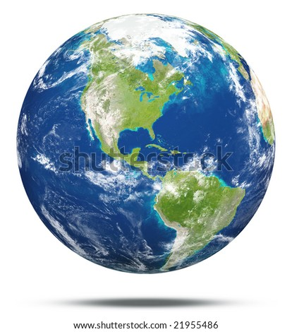 model of Earth - stock photo