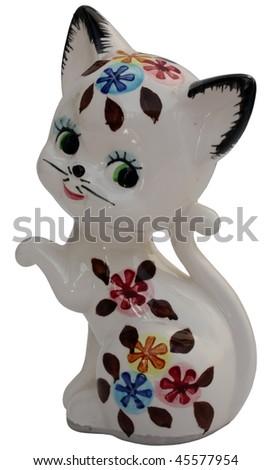 model of little cat. little cat figure.
