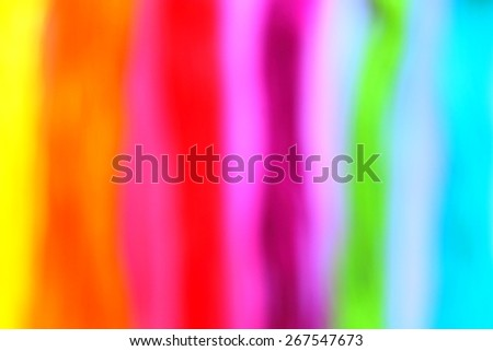 Modern abstract art. Blurry rainbow on the rainbow background. Happy background.