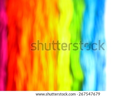 Modern abstract art. Blurry rainbow on the rainbow background. Slim lines. Backgrounds & textures shop.