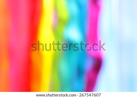 Modern abstract art. Blurry rainbow on the rainbow background. The carpet. Backgrounds & textures shop.