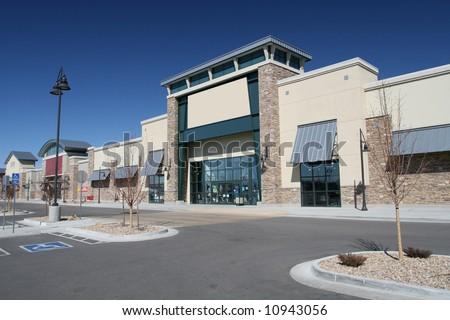Modern American Strip Center