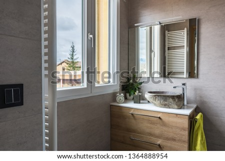 Modern and contemporary bathroom #1364888954