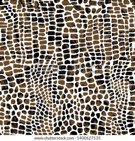 Modern animal and leopard pattern design