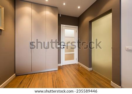 Modern anteroom interior #235589446