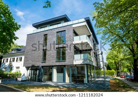 Modern apartment buildings exteriors #1211182024