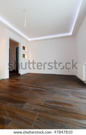 Modern apartment interior after renovation