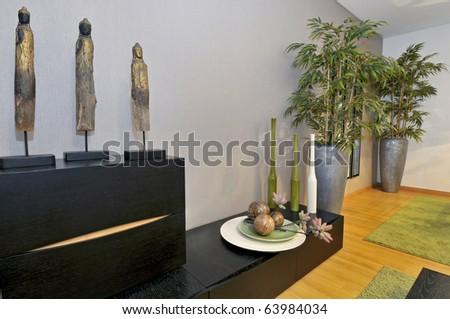 Modern apartment living room decoration