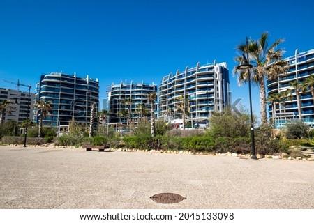 Modern apartments located in Punta Prima, Torrevieja, Spain Stockfoto ©