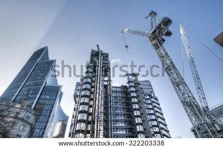 Modern architecture background