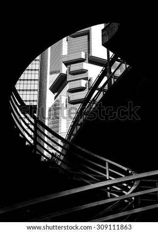 Modern Architecture black & white