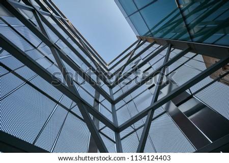 modern architecture design  #1134124403