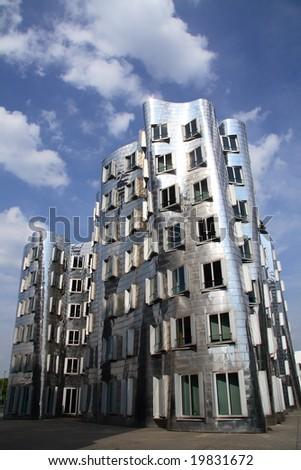 Modern architecture (Dusseldorf, Germany)