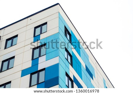 modern architecture geometric style