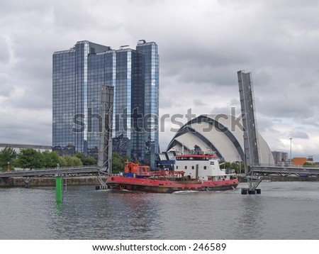 Modern Architecture, Glasgow, Scotland