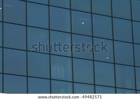 Modern architecture. Glass office buildings.