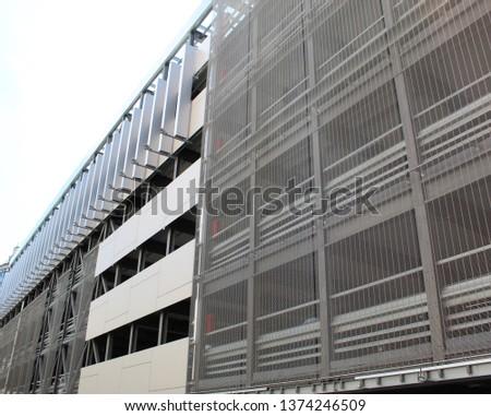 Modern architecture, modern bulding.