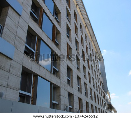 Modern architecture, modern bulding. #1374246512